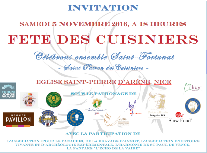logo des associations culinaires Saint-Fortunat