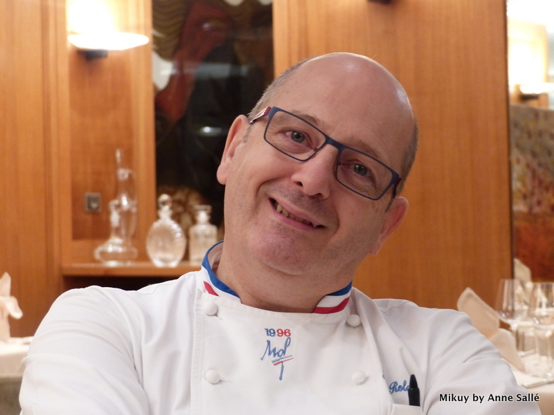 le chef Jacques Rolancy