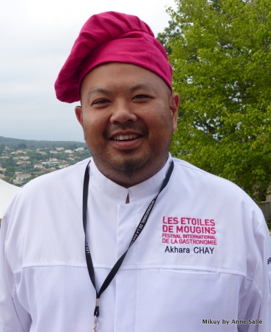Akhara Chay, Chef, Au Jardin de la Vague, Hôtel La Vague de Saint-Paul, Saint Paul de Vence