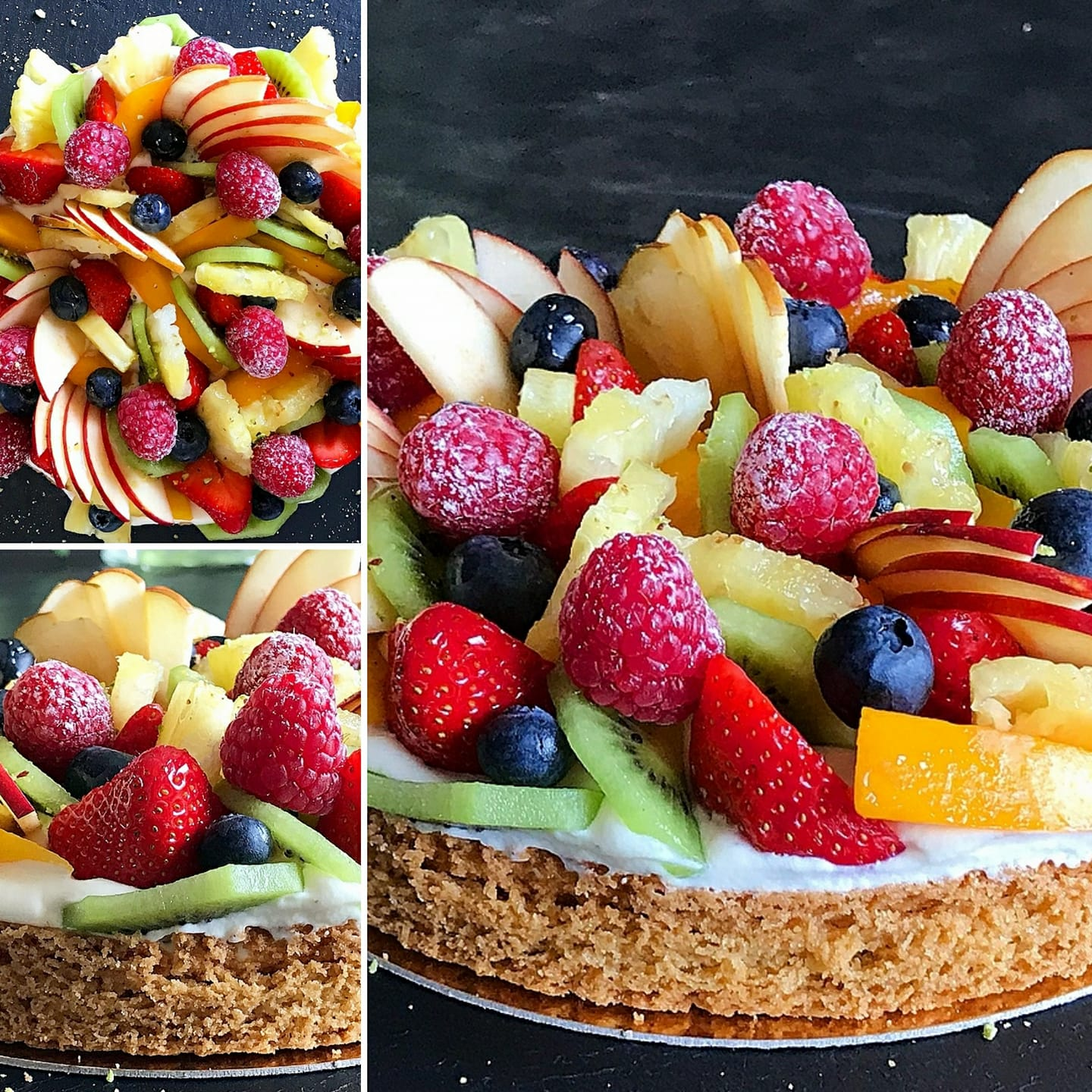 Tarte aux fruits by JHD
